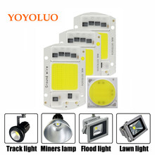 [YOYOLUO] LED COB Lamp Chip 5W 20W 30W 50W 220V Input Smart IC Driver Fit For DIY LED Floodlight Spotlight Cold White Warm White(China)
