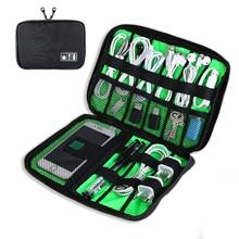High Quality Digital Bags Travel Data Lines Bag font b Electronics b font Accessories Travel Organizer
