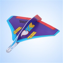 12pcs/lot Paper AirplaneToy Foam Circle Round Plane Model Educational Toys for Kids Christmas Gifts J738