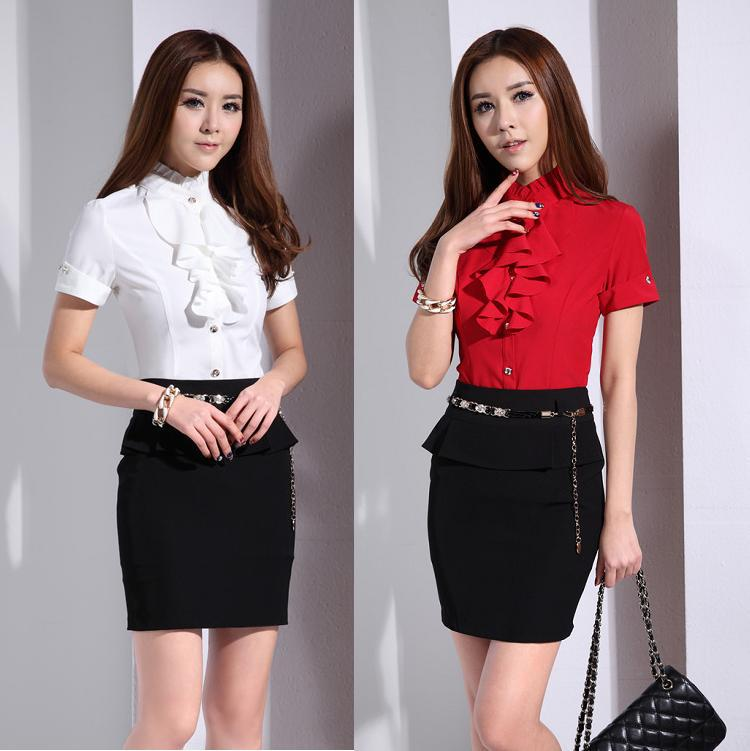 Aliexpress.com : Buy New 2015 Summer Formal Women Work Suits with ...