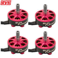 4PCS/LOT DYS SUN FUN SF2306 1750KV 2500KV CW Thread FPV Racing Brushless Motor For RC Drone Quadcopter Spare Parts