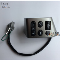 Free Shipping High Quality Steering Wheel Audio And Bluetooth Control Button ForNissan Bluebird Sylphy Tiida LIVINA