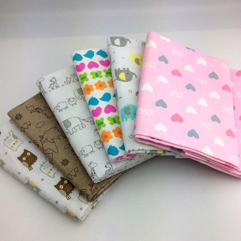 2 teile/los 76x76 cm 100% baumwolle Flanell Baby Decke Neugeborenen Super Weich Cartoon Decken baby Erhalten Decken swaddle