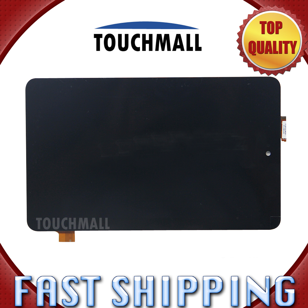 For Dell Venue 7 3730 3740 Replacement LCD Display Touch Screen Digitizer Glass Assembly 7-inch Black For Tablet 10pcs lot 100% aaa quality replacement for iphone 6 lcd 4 7 inch display with original glass touch screen digitizer assembly