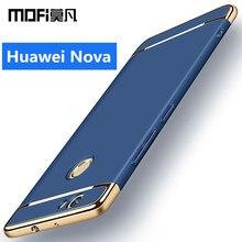 Huawei Nova чехол Huawei NOVA Твердый переплет защитный телефон САППУ Роскошные совместные Mofi Huawei NOVA случаях и охватывает 5.0