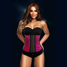Free shipping  8 colours 4 Steel Bones  women fashion  shaper cincher waist   latex corset  8112