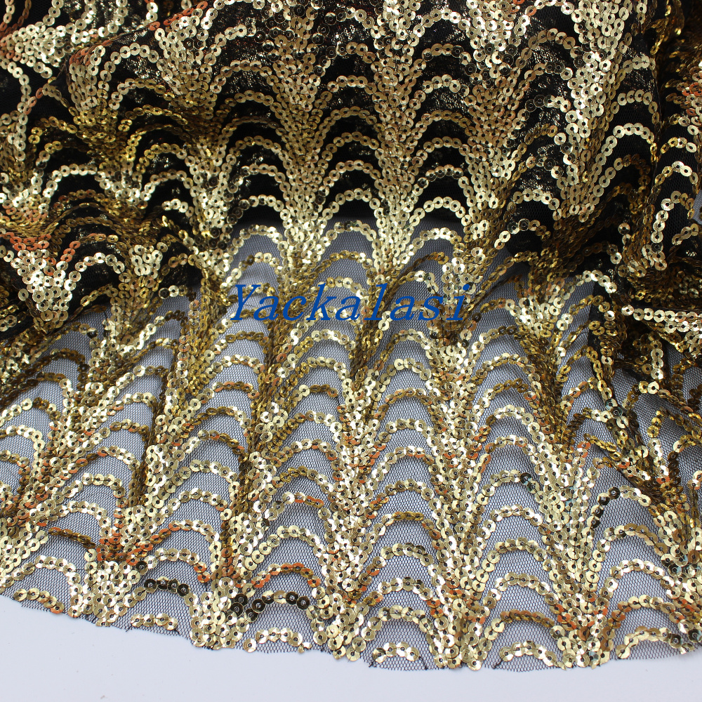 Online buy wholesale gold sequin fabric from china gold for Sequin fabric