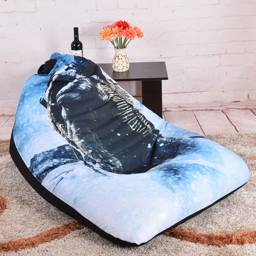 bean bag chairs for teens patio high back chair cushions levmoon beanbag teenage mutant ninja turtles comfort bed cover without filler cotton indoor lounge in living room sofas from