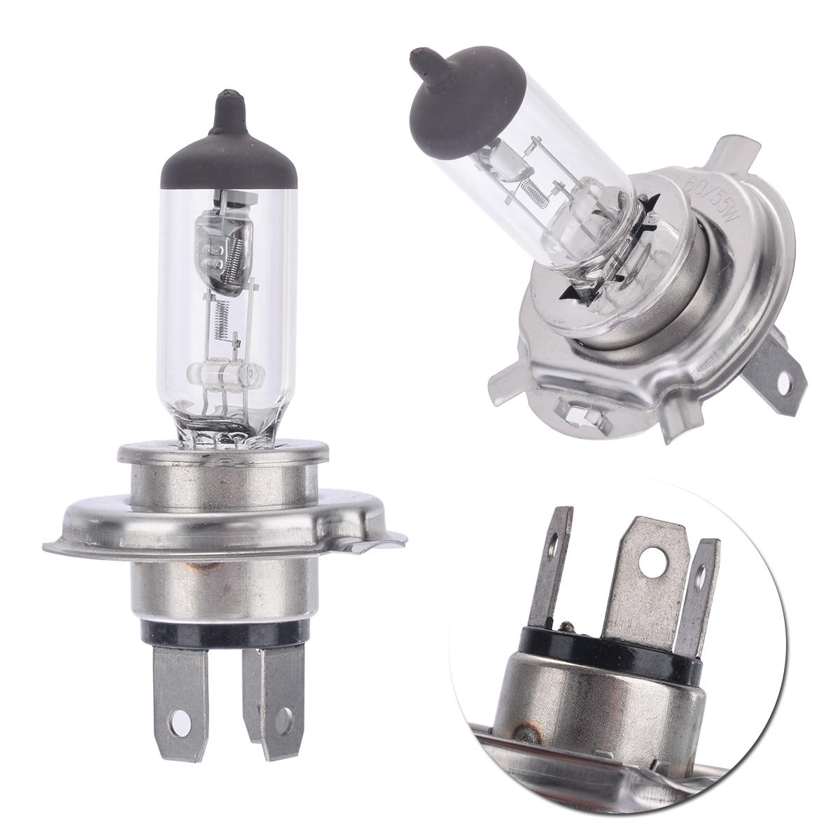 1pc H4 12V 60/55W P43t-38 Headlight Bulb Premium +30% Hal-ogen For Auto SUV Truck Lamp Accessories