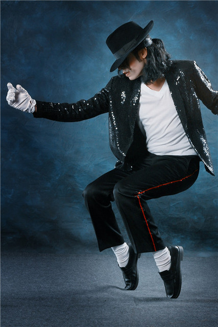 PL250 Michael Jackson 4 Poster Print Silk Fabric Cloth