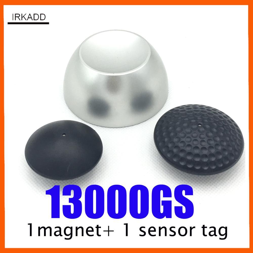 Golf Detacher 13000GS Magnetic Security Tag Detacher Anti Shoplifting Devices No Sound/alarm Sensor Remover +1 Alarm Tag