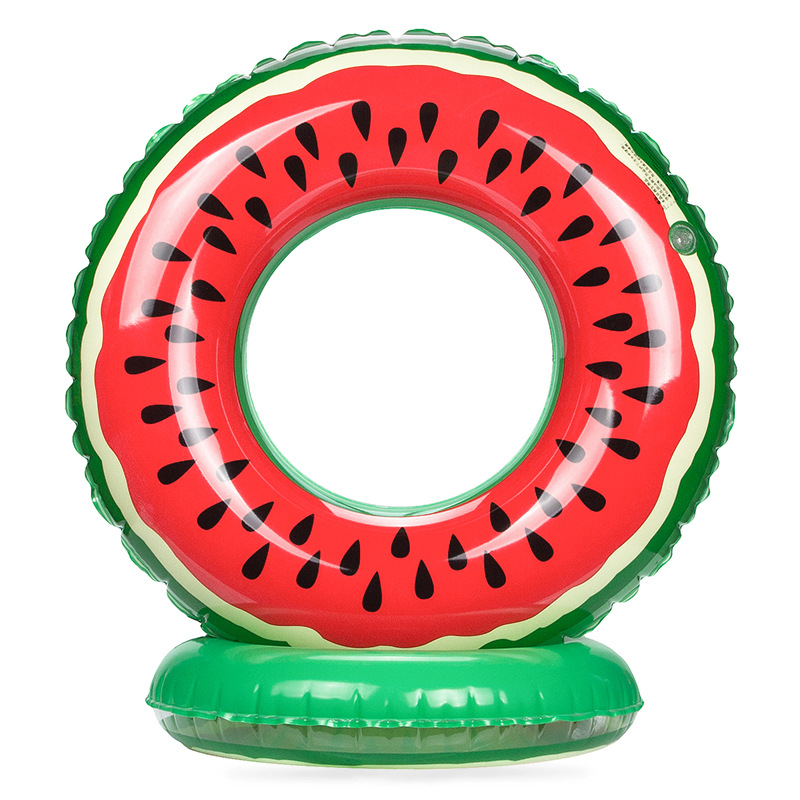 New hot PVC, inflatable watermelon, swimming circle, adult fruit, swimming circle, spot, direct supply.