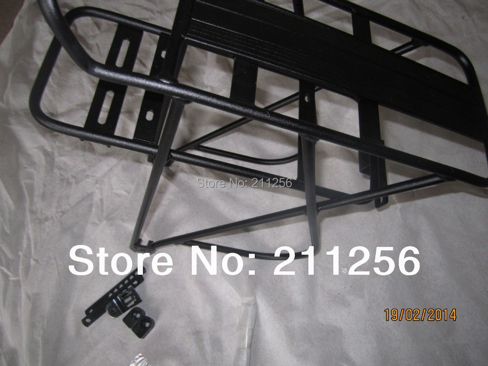 ebike Rear Rack/Shelf 24 inch 26 28 Suspension mountain bike Battery 36V/48V(Double Deck/layer) - Shenzhen Xwheel Power Co,.Ltd store
