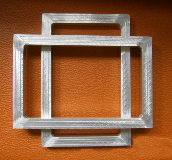 5 pcs silk screen printing aluminum screen frame with outer size 20x30cm