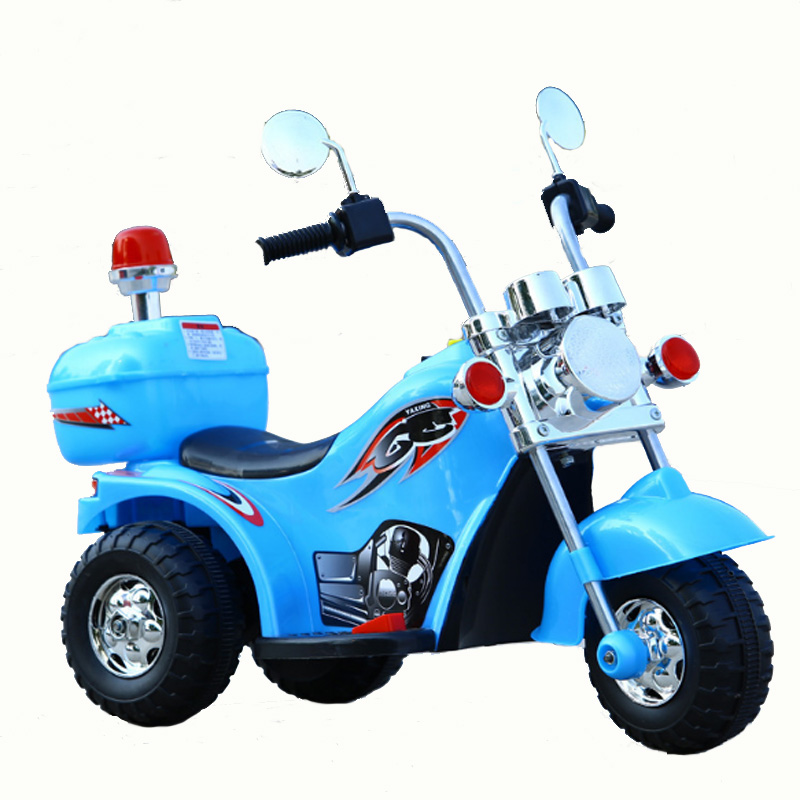 Baby Motorcycle Children Electric Boy Girl Aged 3-6 LargeTricycle Motorcycle Gift Off-road Motorcycle Ride On Cars Outdoor Toy