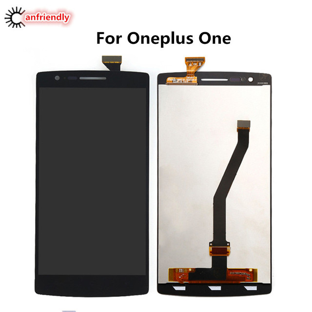 For Oneplus One 1+1 A0001 LCD Display + Touch Screen Digitizer Assembly Replacement Glass Panel For One Plus One lcds repair