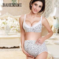 BAHEMAMI XXL Bamboo Fiber Pregnancy Underwear Briefs Clothing Adjustable Hight Waist Of Underpants For Maternity Panties 2018