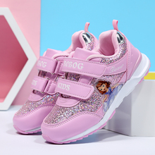 Children's shoes 2019 spring and autumn new fashion boys and girls mesh breathable casual sports EVA soft bottom skid kids shoes