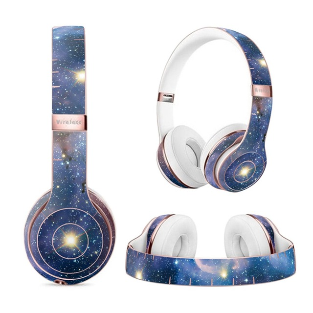 US $9 34 |Skin Decal for Beats Solo3 Wireless Headphones,Vinyl Body Shell  Protective Sticker Wrap 007#-in Screen Protectors from Consumer Electronics