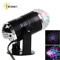 Disco Light Party Christmas Mini RGB LED Crystal Magic Ball Stage Effect Lighting Lamp Bulb Disco