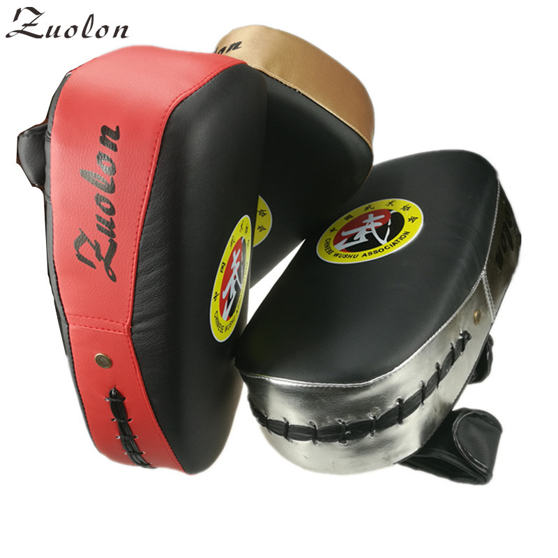 Boxing Gloves Pads For Muay Thai Kick Boxing MMA Training Boxer Hand Target Pad