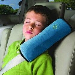 1 шт.. детские автомобильные ремни безопасности плечевая Накладка для детей Защитный чехол подушка Поддержка автомобиля Подушка ремни безо...