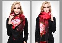vianosi] новые дизайн бандана печати зимний шарф для женщин Plate теплая шарфы для женщин шерсть марка шарф женщина братан бумага va070