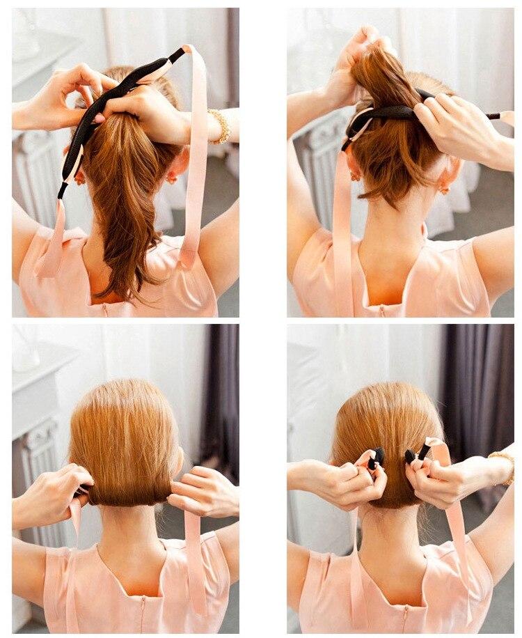 1PC Μαλλιών Braider Magic Sponge Εύκολη DIY Hair Styling - Περιποίηση και στυλ μαλλιών - Φωτογραφία 2