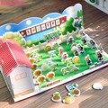 [Bainily] 1 шт. Растения против Зомби 3D Книга Карты Растения Зомби Фигурки Сбора Игры Горох Подсолнечник Учебной Книги для Kid Toy