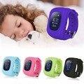 2017 q50 smart kid safe smart watch llamada sos ubicación Reloj Monitor de Localizador Del buscador Del Perseguidor para Perdida Anti Del Niño Bebé regalos