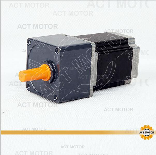 ACT Motor 1PC Stepper Geared Motor 23HS8430AG15 15:1 Ratio 3A 21N.m CNC Router Laser Engraving eprap 3D Printer nema23 geared stepping motor ratio 50 1 planetary gear stepper motor l76mm 3a 1 8nm 4leads for cnc router