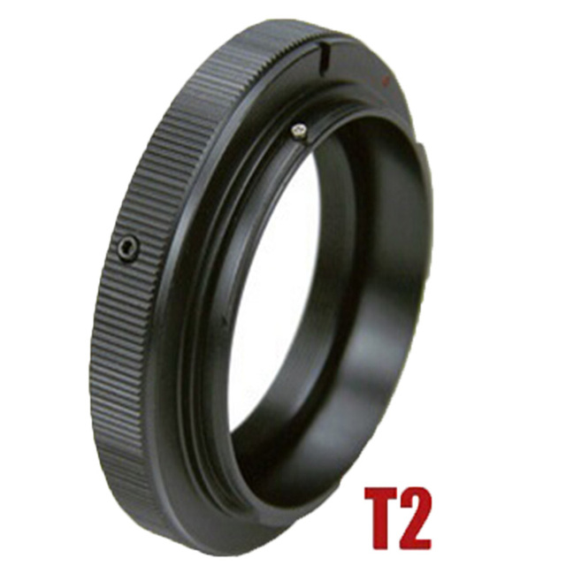 Adaptateur dobjectif pour télescope à monture T2 Foleto pour canon EOS nikon SONY M42 olympus pentax appareil photo reflex numérique T2 EOS PK T2 OM AF