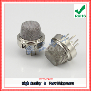 MQ-5 MQ5 gas sensor for the detection of liquefied petroleum gas, gas, methane and other combustible gases image