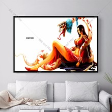 One Piece Sexy Hancock Canvas Art Print Painting Poster Wall Picture For Living Room Home Decorative Bedroom Decor No Frame