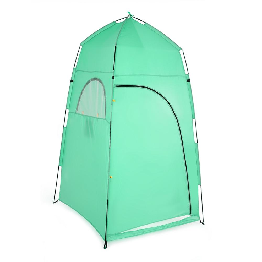 Tomshoo Namiot Przenośny Prysznic Na Zewnątrz Kąpieli Zmienia