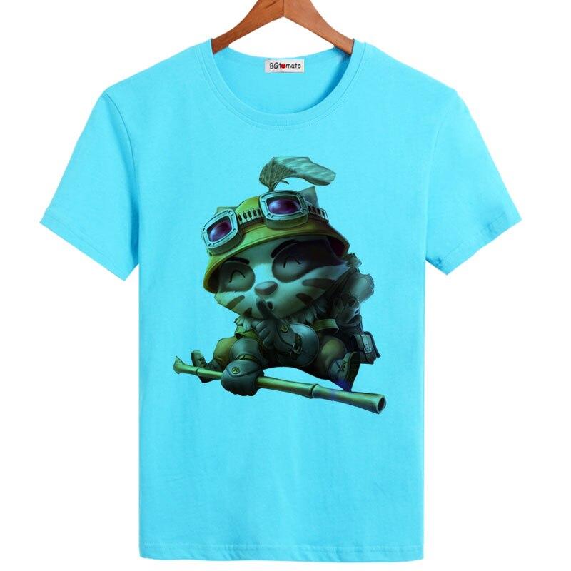 2017 New!! Popular game hero t shirt men fashion hot sale ...