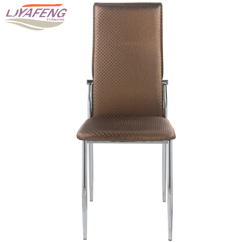 9061-4, the artificial leather, kitchen chair and iron chair are Dark brown. According to the bar's kitchen Family furniture the beauty chair swivels the chair the hairdresser slides the chair