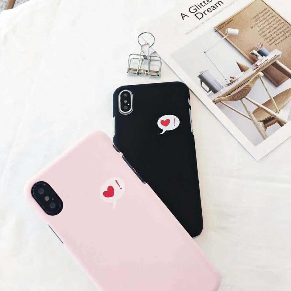 Fashion Wallpaper Symbol Love Heart Pc Case For Iphone Xs Max Xr X 8 8 Plus 7 7 Plus 6 6s 6 Plus Case Back Cover Fundas Coque