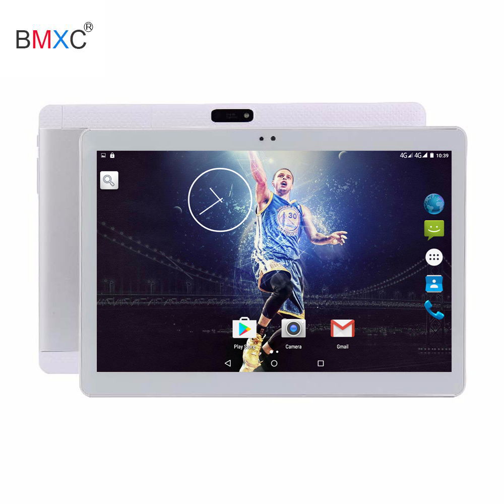 2018 10.1 inch IPS Screen Octa Core 4GB RAM +32GB / 64GB ROM support Dual SIM Card Phone Call Wifi GPS 3G android tablet pc newest 10 1 inch 2 5d glass screen tablet pc octa core android 7 0 call ram 4gb rom 32gb 64gb tablets pcs smart phone pad gift