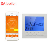 3A Thermostat Boiler Gas Wifi Smart Thermostat Wall Heating Controlled By Smart Phone APP Regulator Weekly