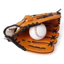 """1 шт. 10,"""" бейсбольные перчатки софтбол перчатки тренировочные спортивные на открытом воздухе левая рука"""