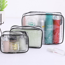Environmental Protection PVC Transparent Cosmetic Bag Women Travel Waterproof Wash Toiletry Bags Makeup Organizer Case leaves hanging cosmetic toiletry bags travel organizer beautician necessary functional makeup wash pouch accessories supplies