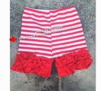 50 шт., новые хлопковые шорты с оборками для маленьких девочек, Короткие штаны с оборками для малышей, Короткие реквизит для фотосессии в день