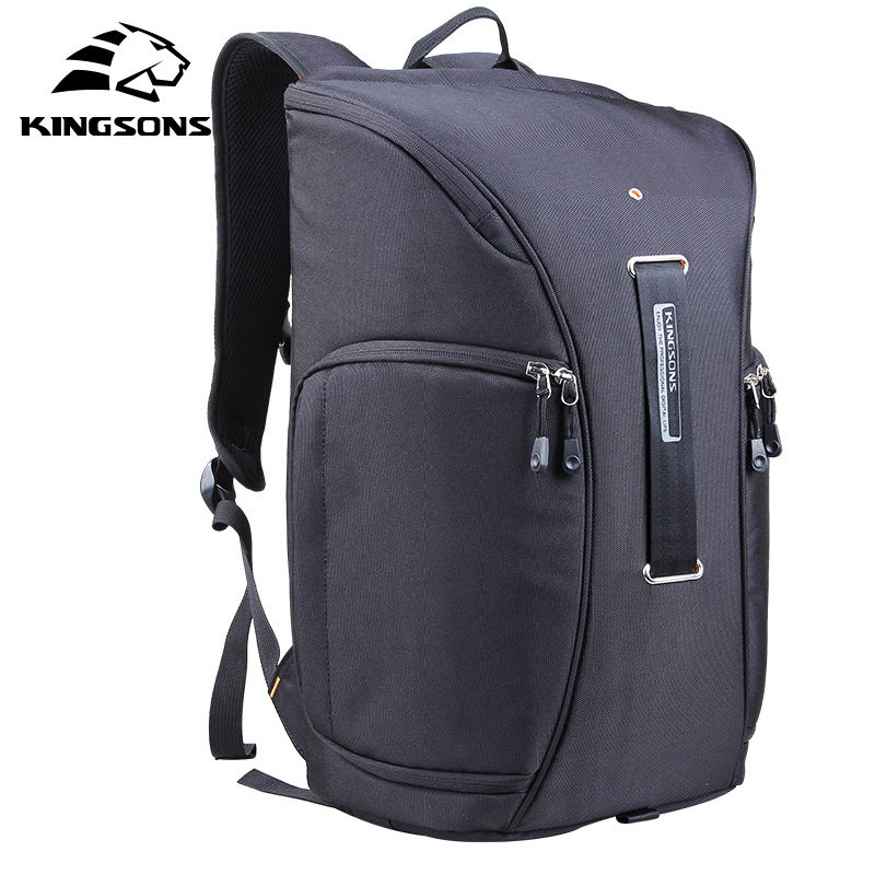 2017 Kingsons New For 15.6 Laptop bag Waterproof shockproof Casual Bag SLR digital Camera bag compute bag free shipping