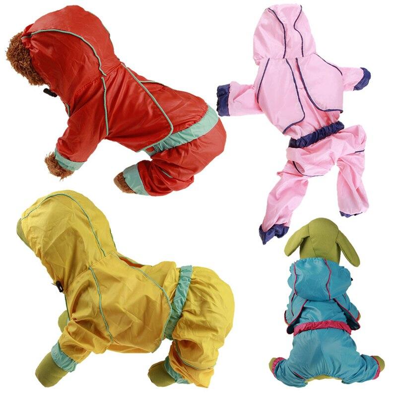 font b Pet b font dog rain clothes puppy casual waterproof rain clothes Jacket font