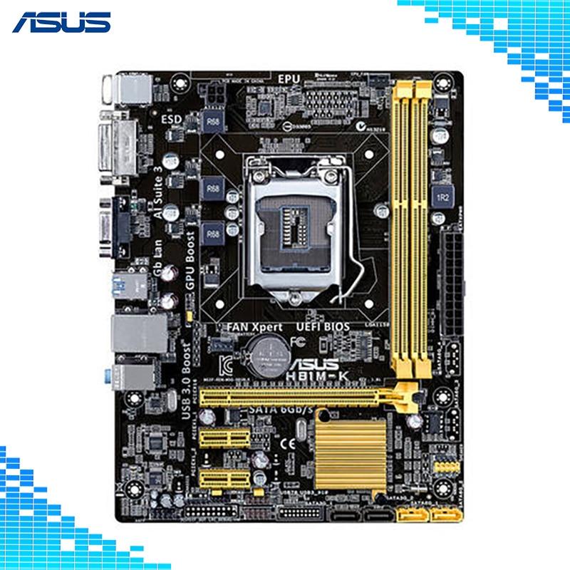 Asus H81M-K Desktop Motherboard Intel H81 Chipset Socket LGA 1150 asus h81m p page 6