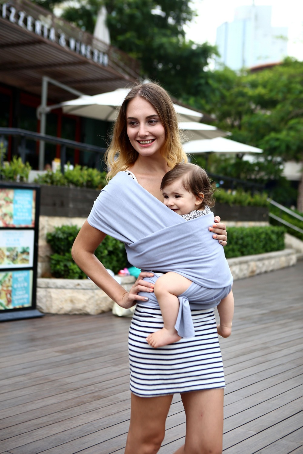 Soft Cuddless Baby Wrap Carrier