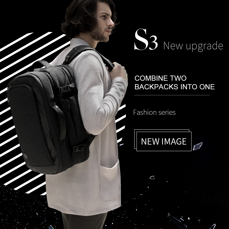 Image 5 - ARCTIC HUNTER Multifunction 17 inch Laptop Backpacks For Teenage Men Travel Backpack Bag Large Capacity Casual Vintage 2018 New-in Backpacks from Luggage & Bags