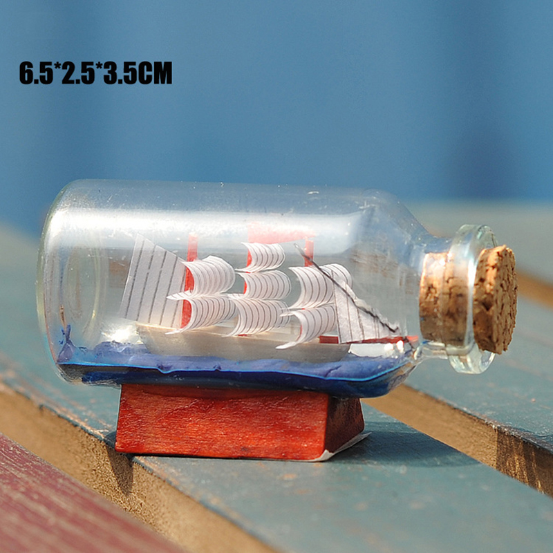 Տուն Դեկոր Միջերկրածովյան ոճով Mini Ship - Տնային դեկոր - Լուսանկար 3
