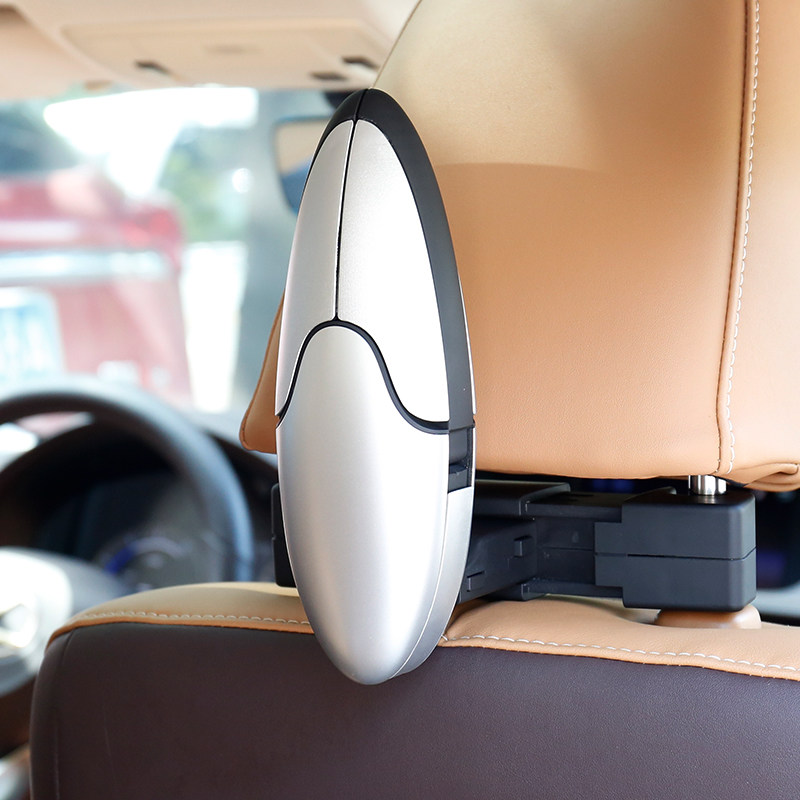 Image 3 - E FOUR Car Coat Hanger with Backseat Storage Hook for all kinds of Clothes Jackets Suits Handbags Purses Coats and Grocery Bags-in Car Coat Hanger from Automobiles & Motorcycles